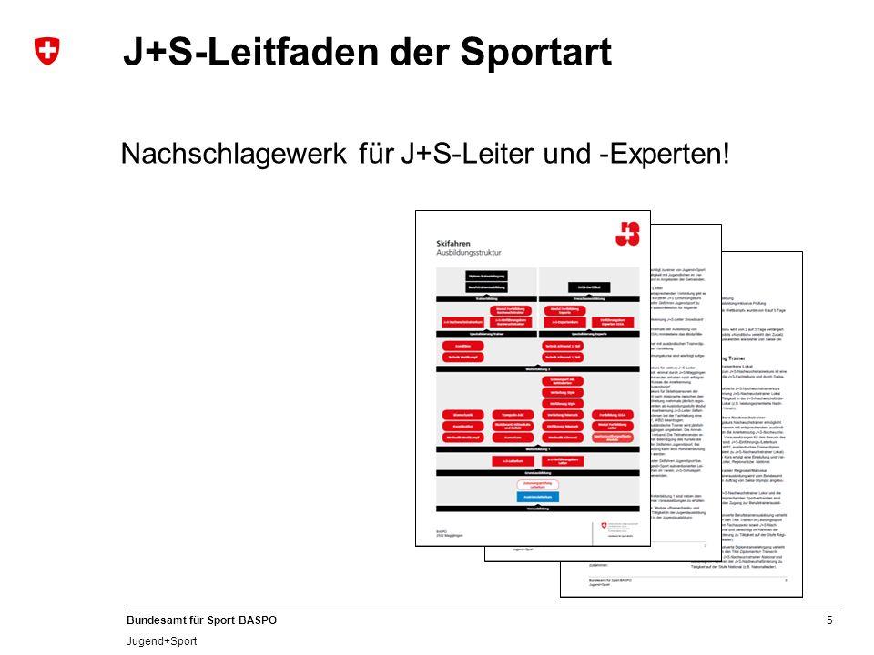 J+S-Leitfaden der Sportart