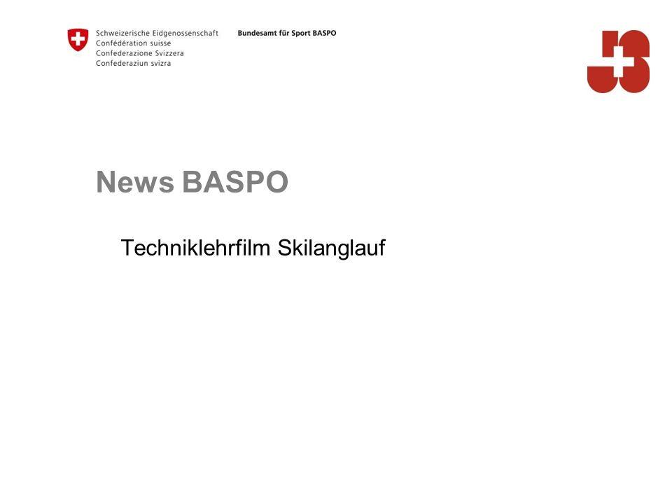 News BASPO Techniklehrfilm Skilanglauf