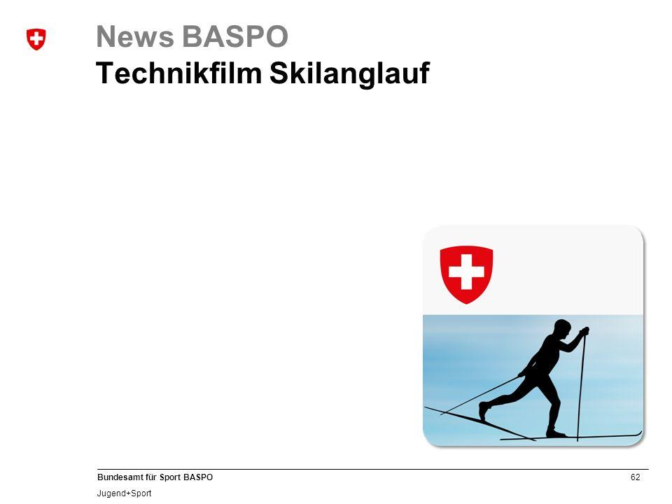 News BASPO Technikfilm Skilanglauf