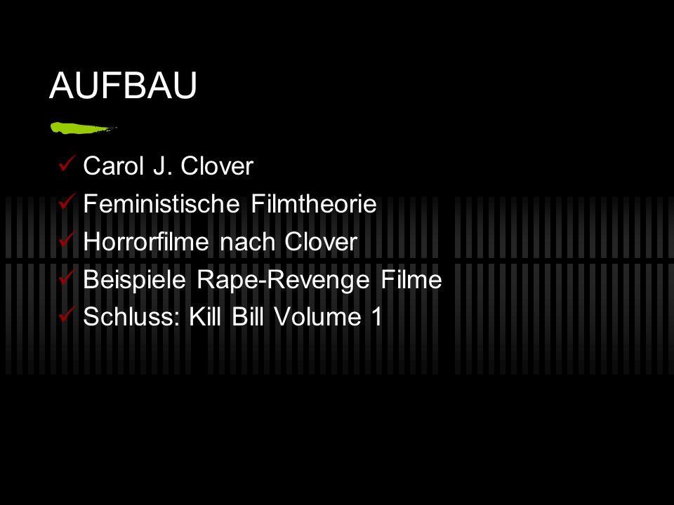 AUFBAU Carol J. Clover Feministische Filmtheorie