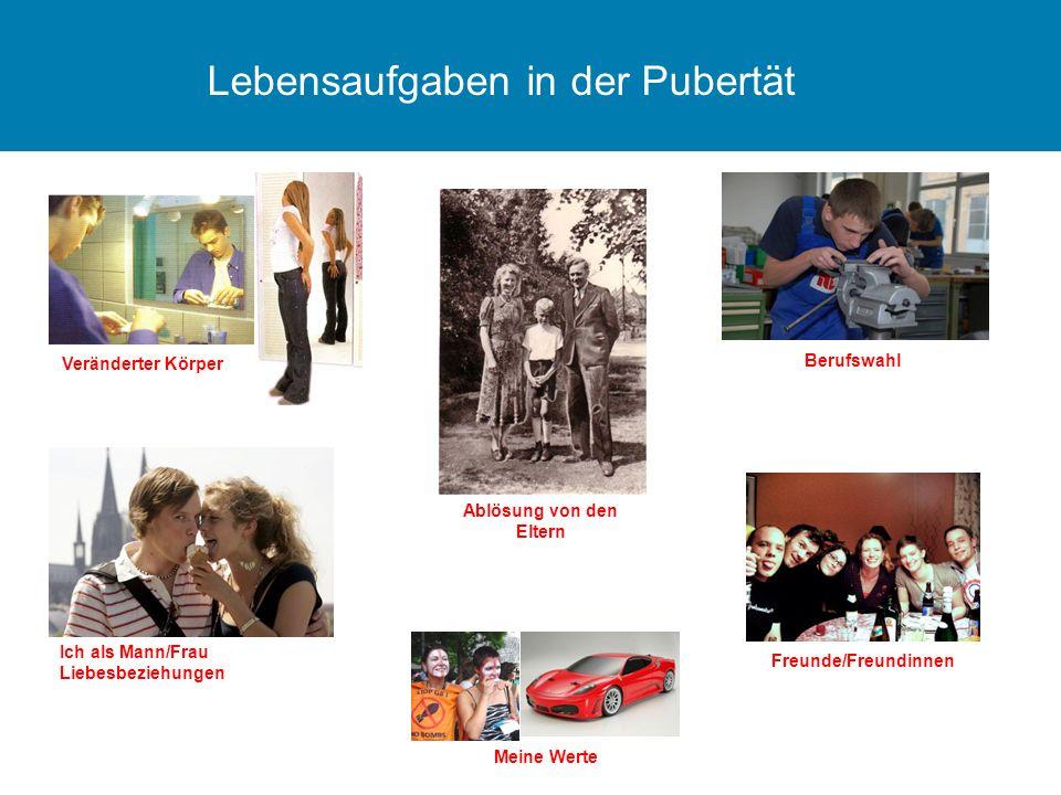 Lebensaufgaben in der Pubertät