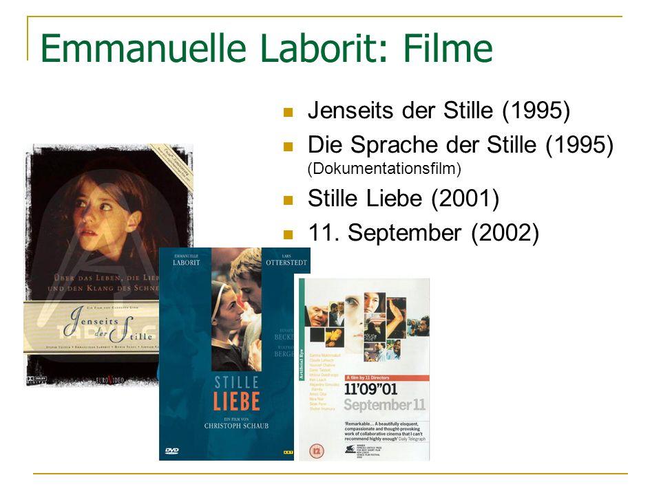 Emmanuelle Laborit: Filme
