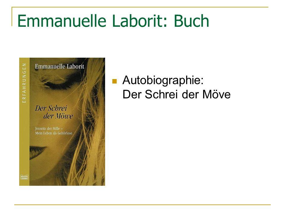 Emmanuelle Laborit: Buch