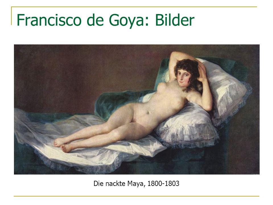 Francisco de Goya: Bilder