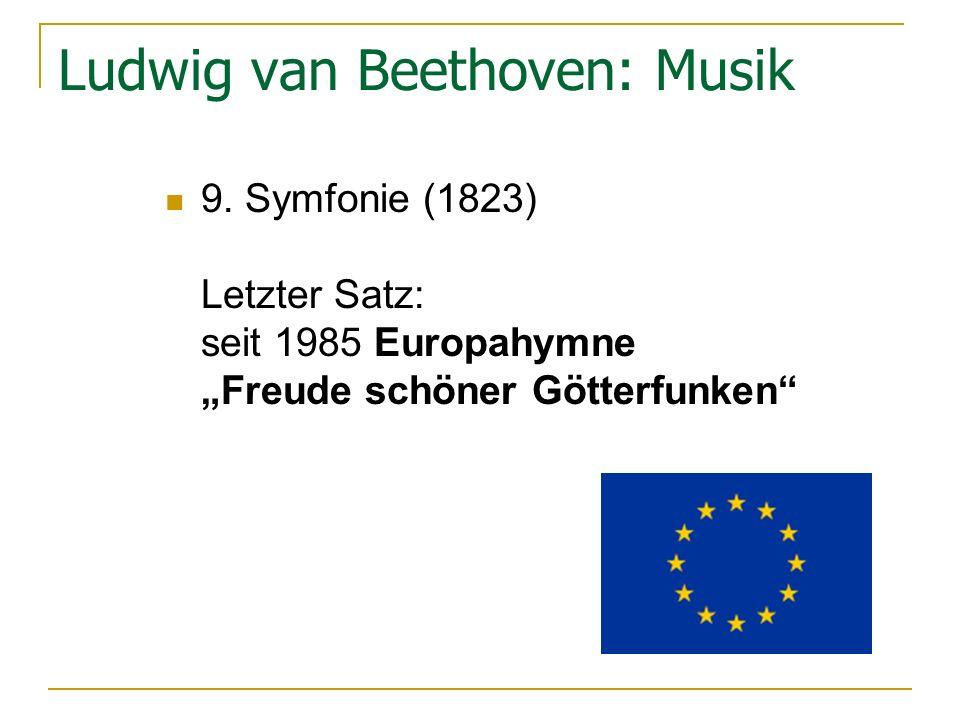 Ludwig van Beethoven: Musik