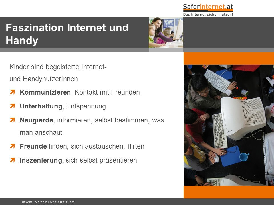 Faszination Internet und Handy