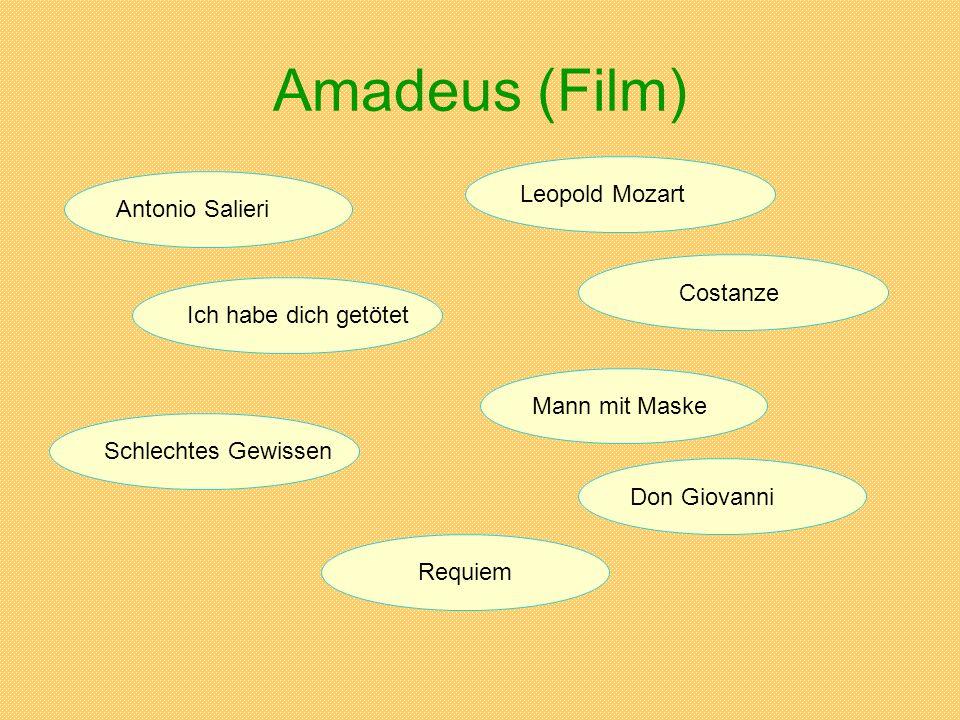 Amadeus (Film) Leopold Mozart Antonio Salieri Costanze