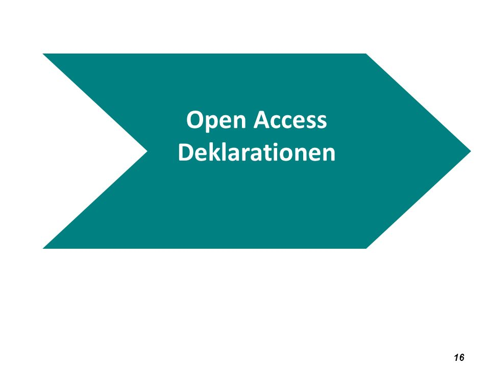 Open Access Deklarationen