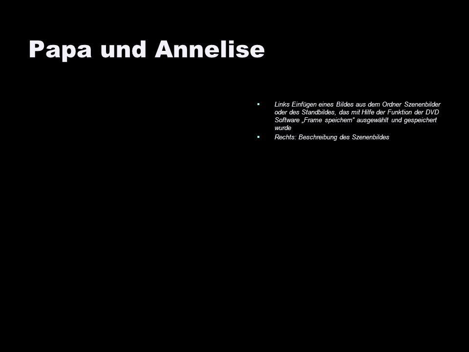 Papa und Annelise