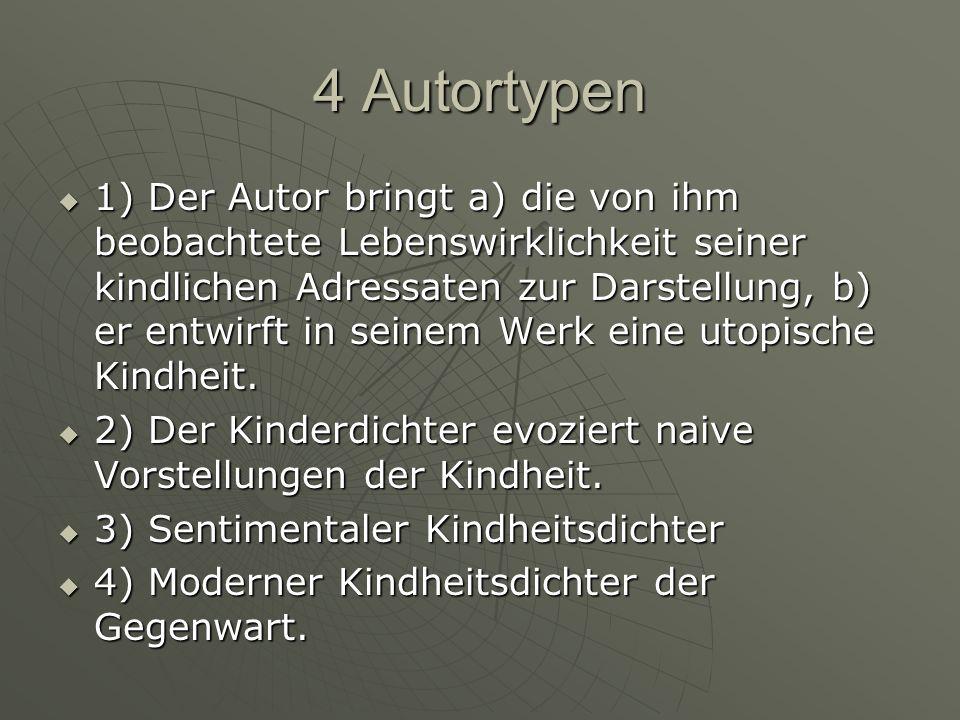 4 Autortypen