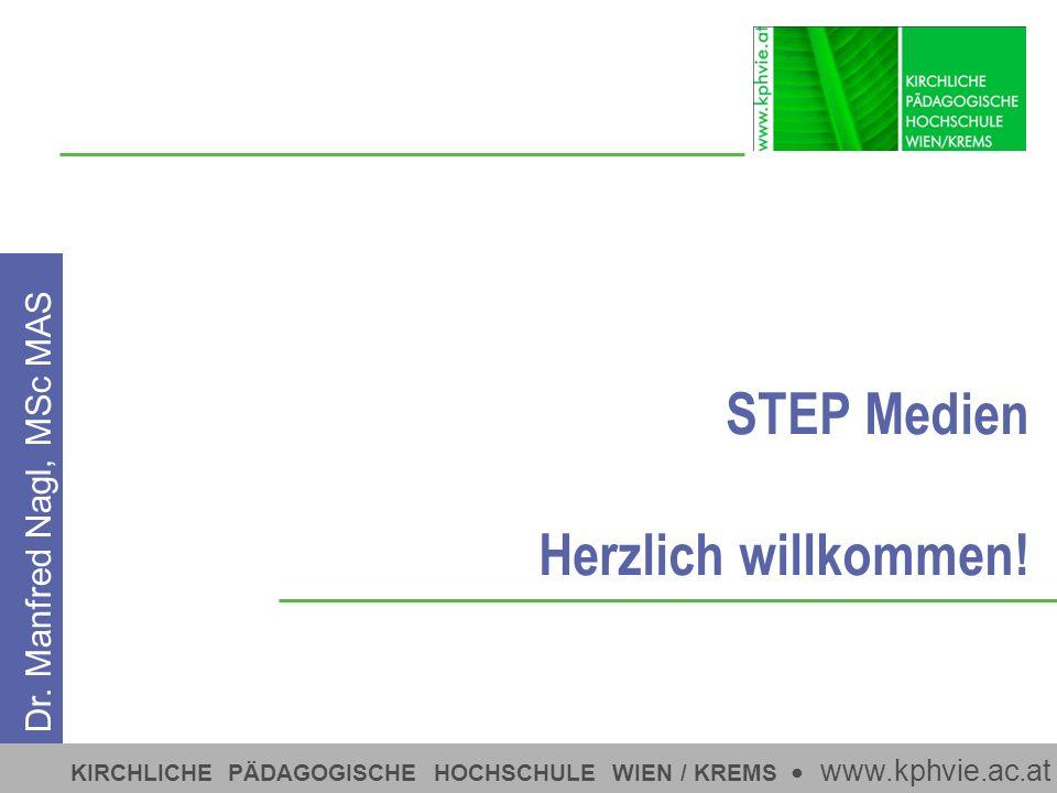 STEP Medien Herzlich willkommen!