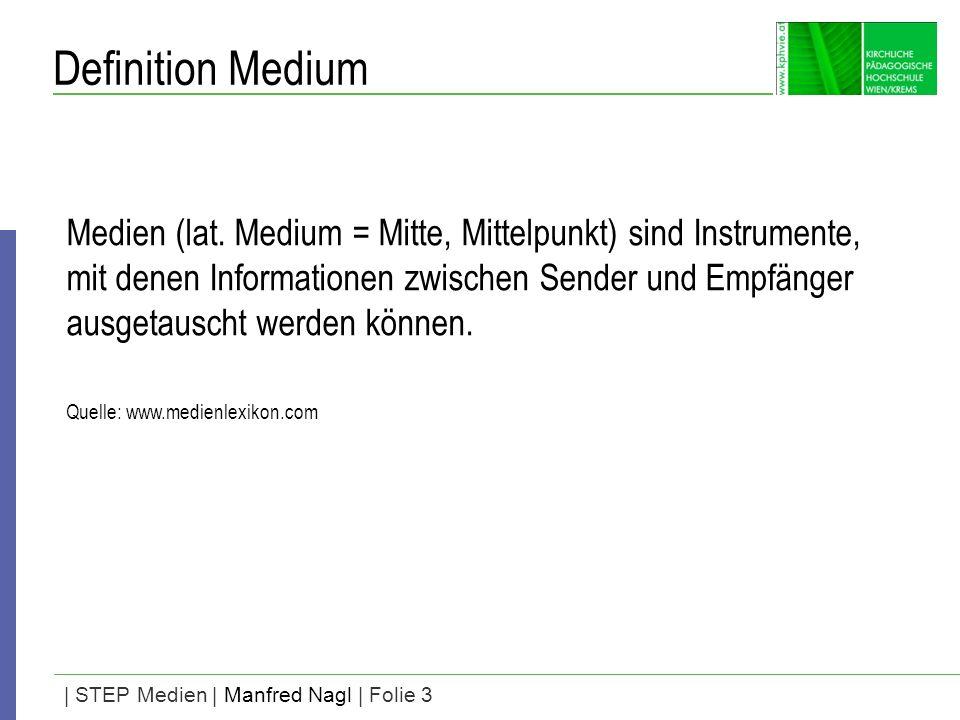 Definition Medium