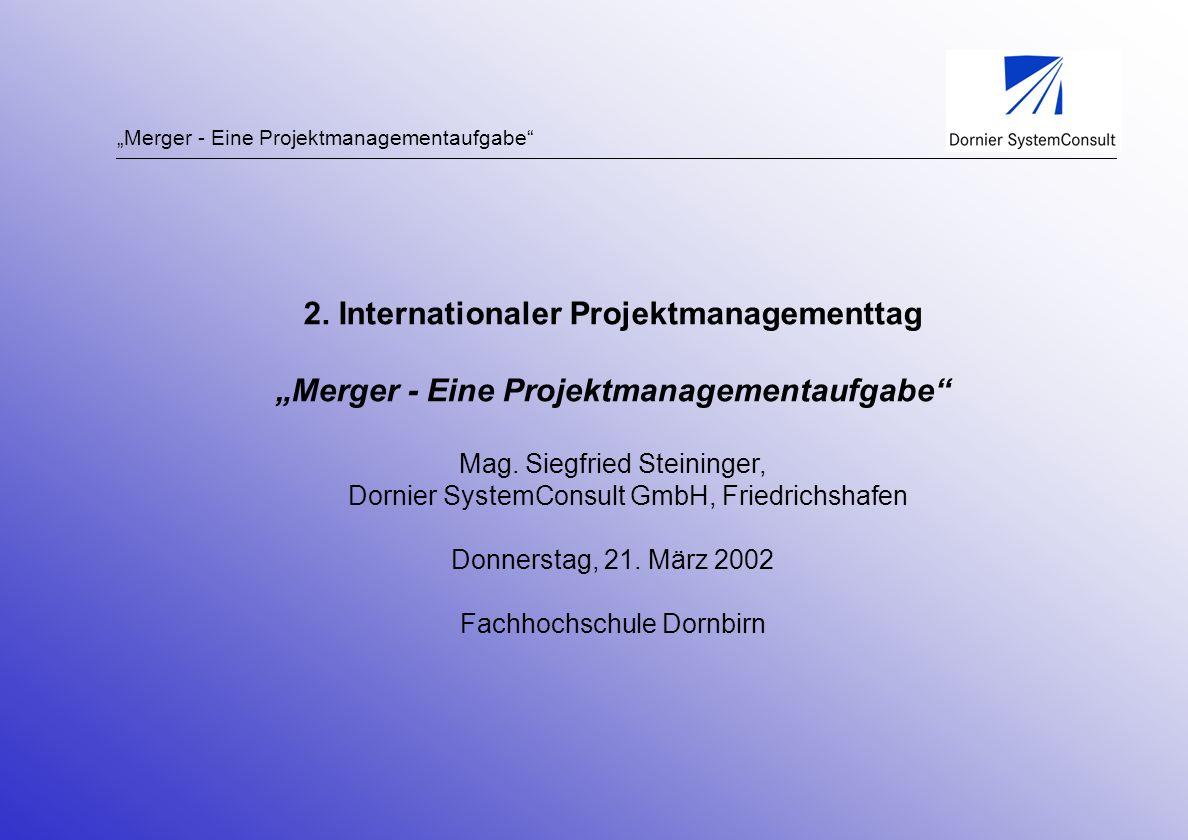2. Internationaler Projektmanagementtag