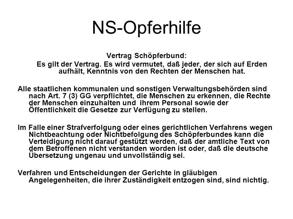 Vertrag Schöpferbund: