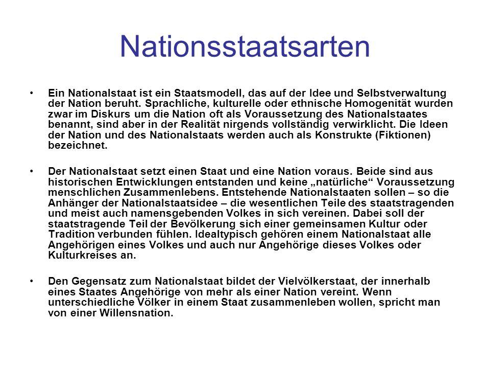 Nationsstaatsarten