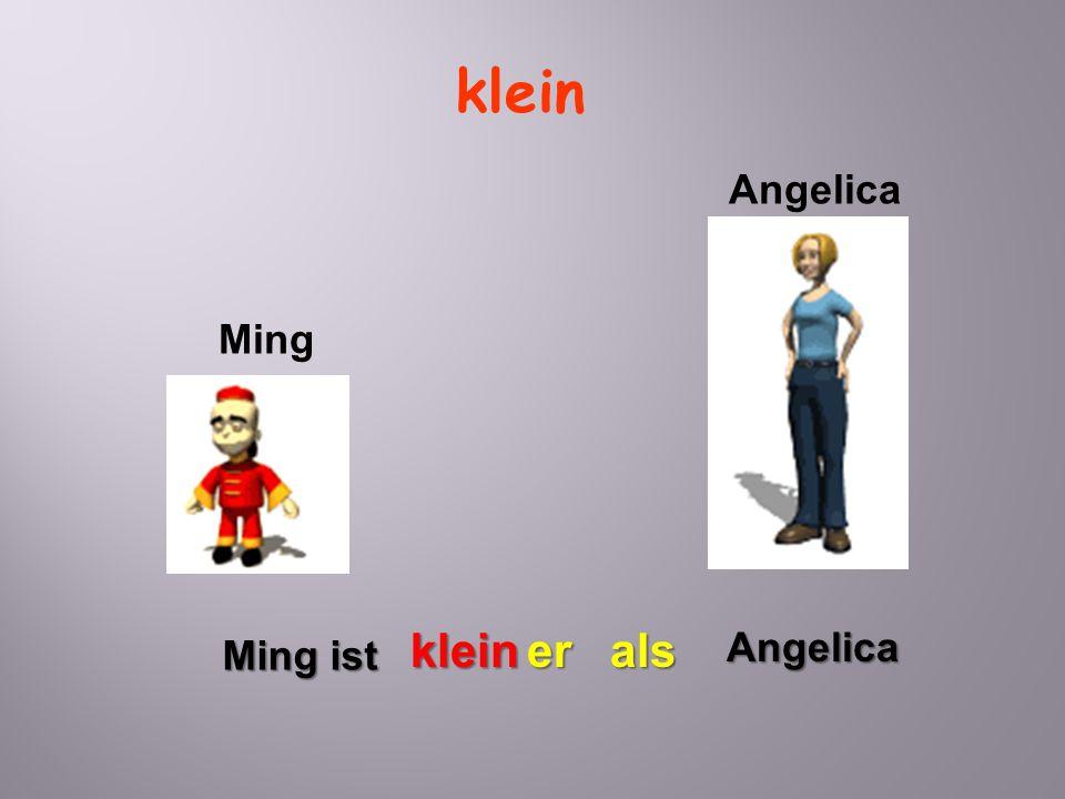 klein Angelica Ming klein er als Angelica Ming ist