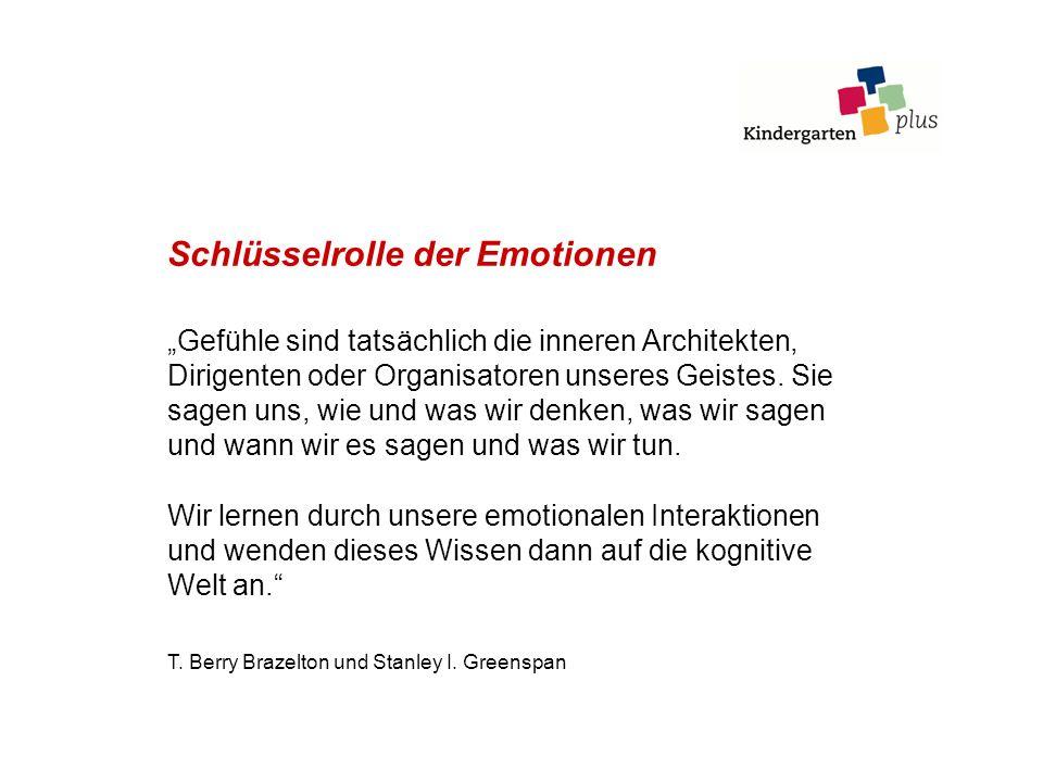 Schlüsselrolle der Emotionen