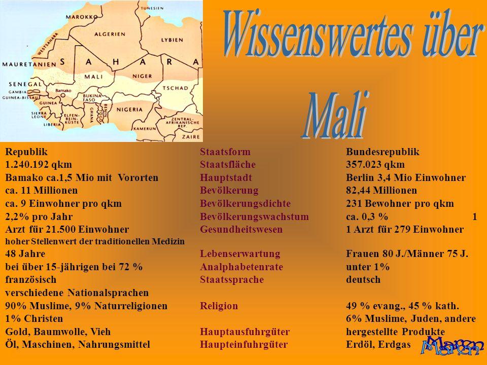 Wissenswertes über Mali Maren