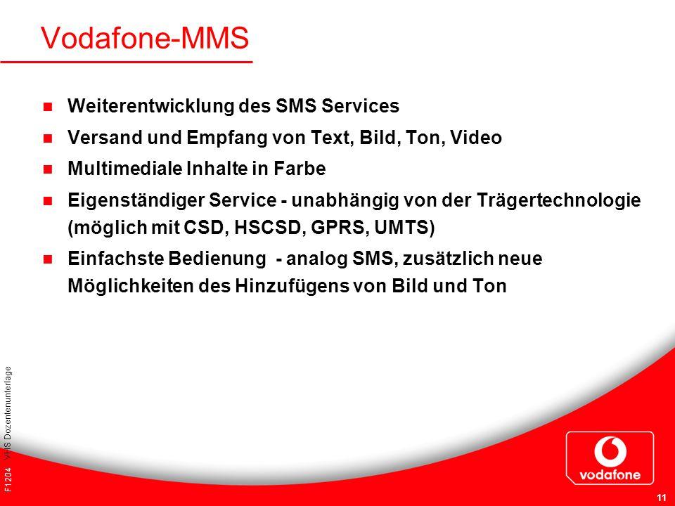 Vodafone-MMS Weiterentwicklung des SMS Services
