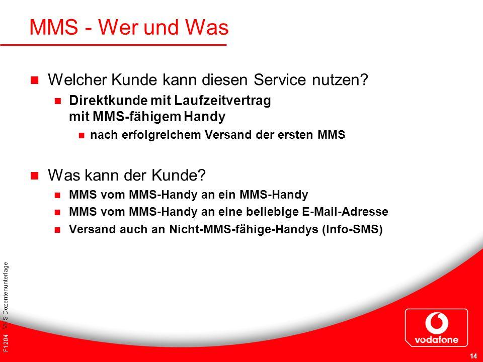MMS - Wer und Was Welcher Kunde kann diesen Service nutzen
