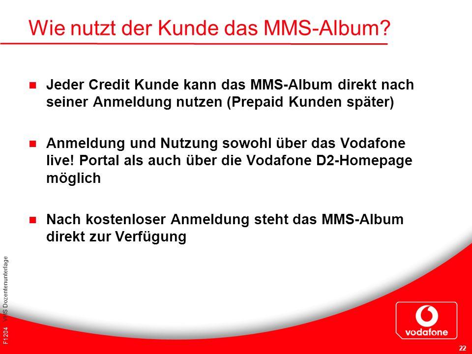 Wie nutzt der Kunde das MMS-Album