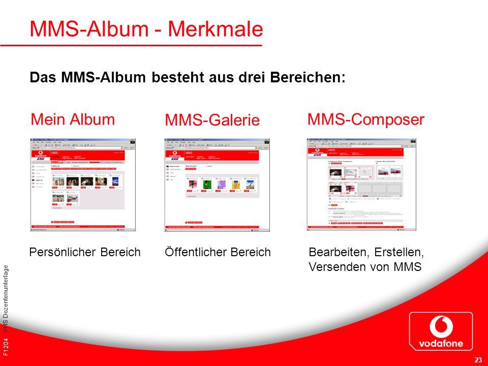 MMS-Album - Merkmale Mein Album MMS-Galerie MMS-Composer