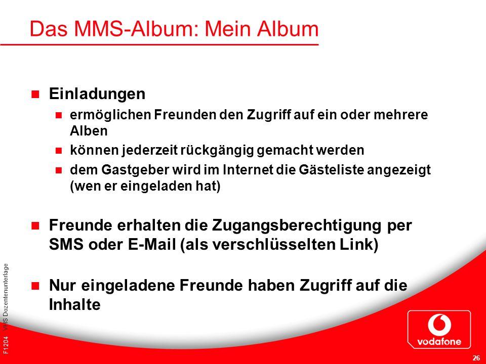 Das MMS-Album: Mein Album