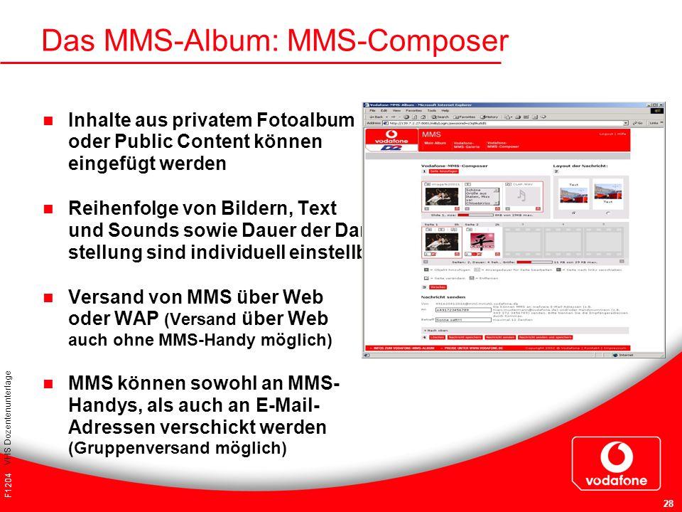 Das MMS-Album: MMS-Composer