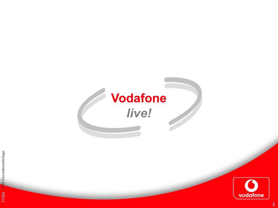 Vodafone live! VHS Dozentenunterlage F1204