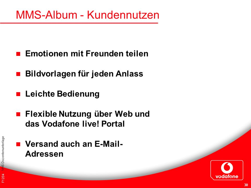 MMS-Album - Kundennutzen