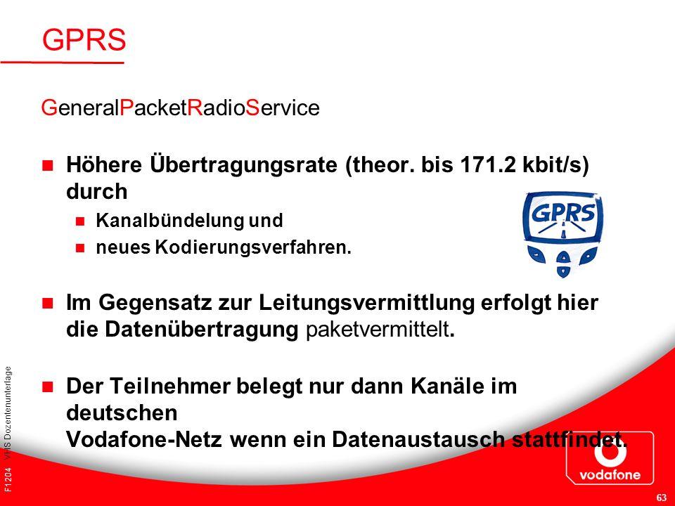 GPRS GeneralPacketRadioService