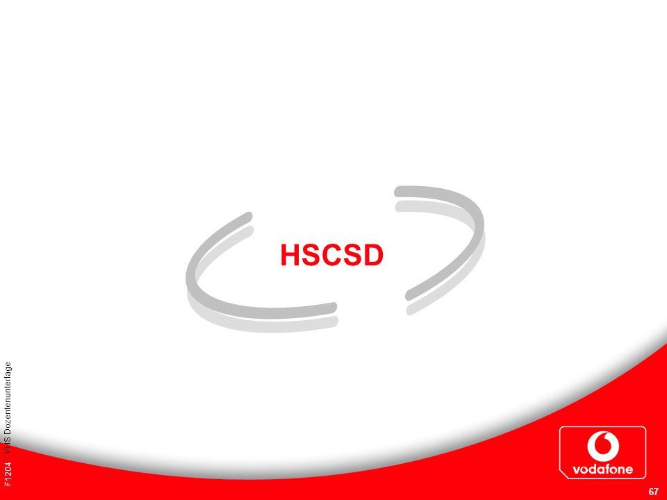 HSCSD VHS Dozentenunterlage F1204