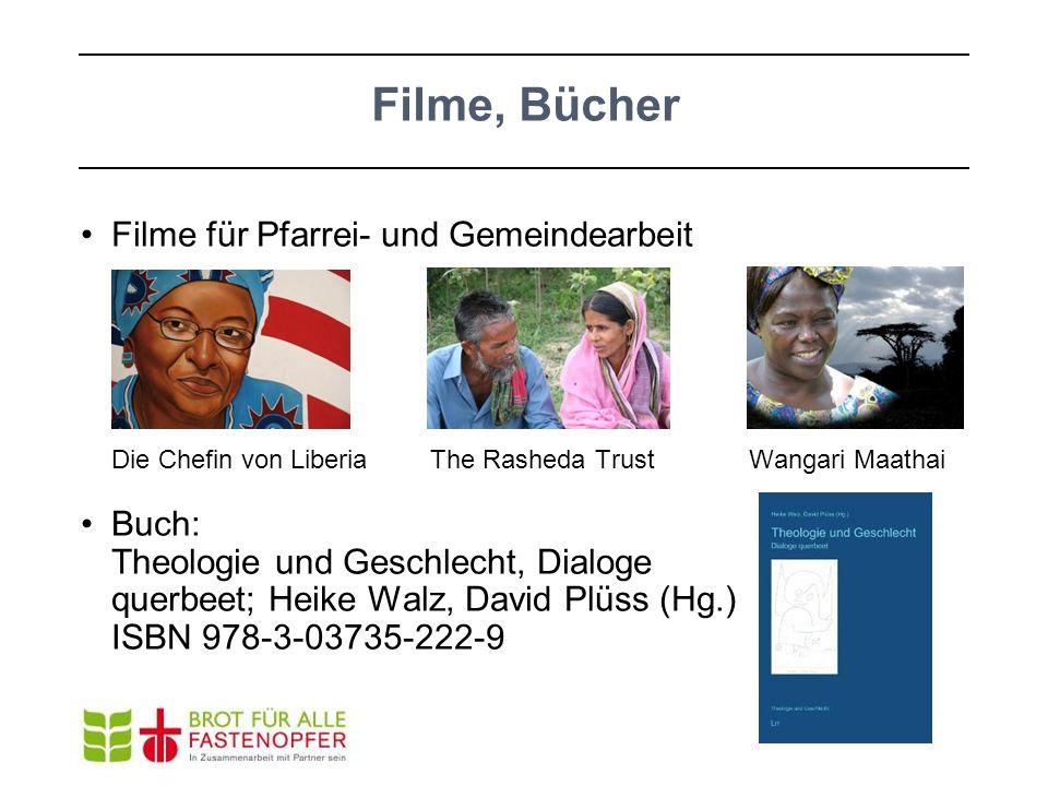 Filme, Bücher Filme für Pfarrei- und Gemeindearbeit