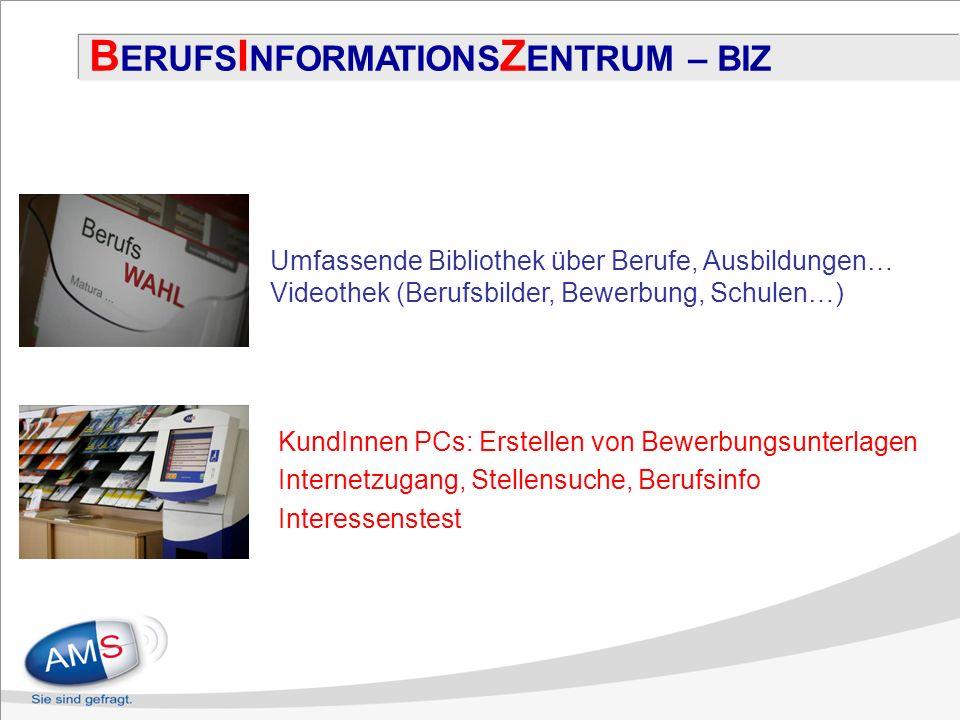 BERUFSINFORMATIONSZENTRUM – BIZ