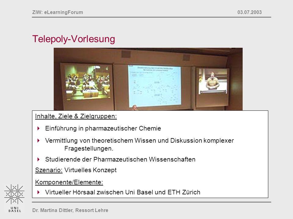 Telepoly-Vorlesung Inhalte, Ziele & Zielgruppen: