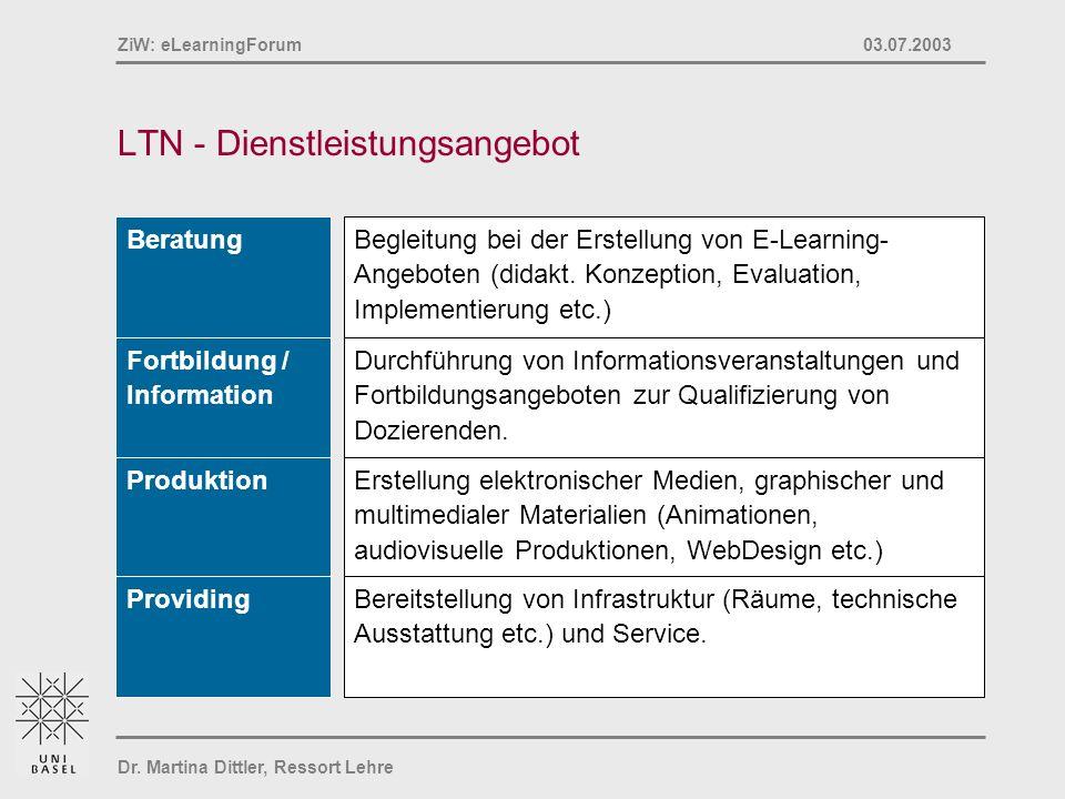 LTN - Dienstleistungsangebot