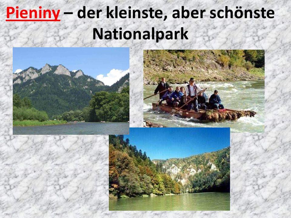 Pieniny – der kleinste, aber schönste Nationalpark