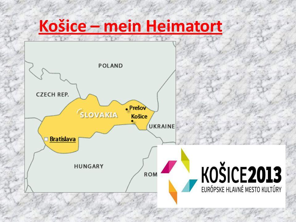 Košice – mein Heimatort