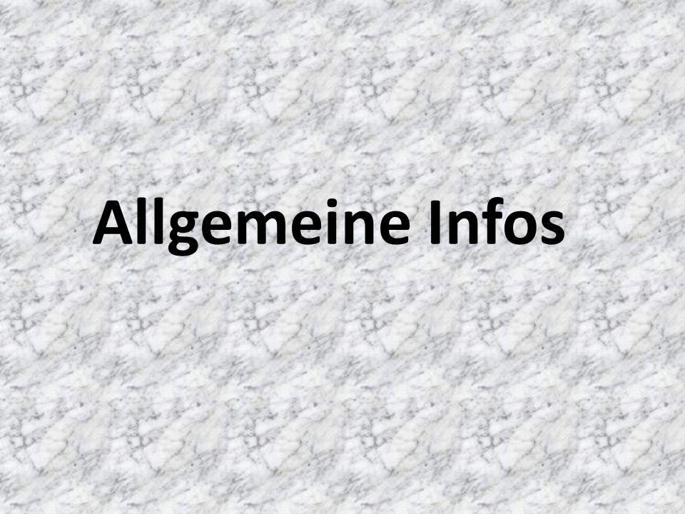 Allgemeine Infos