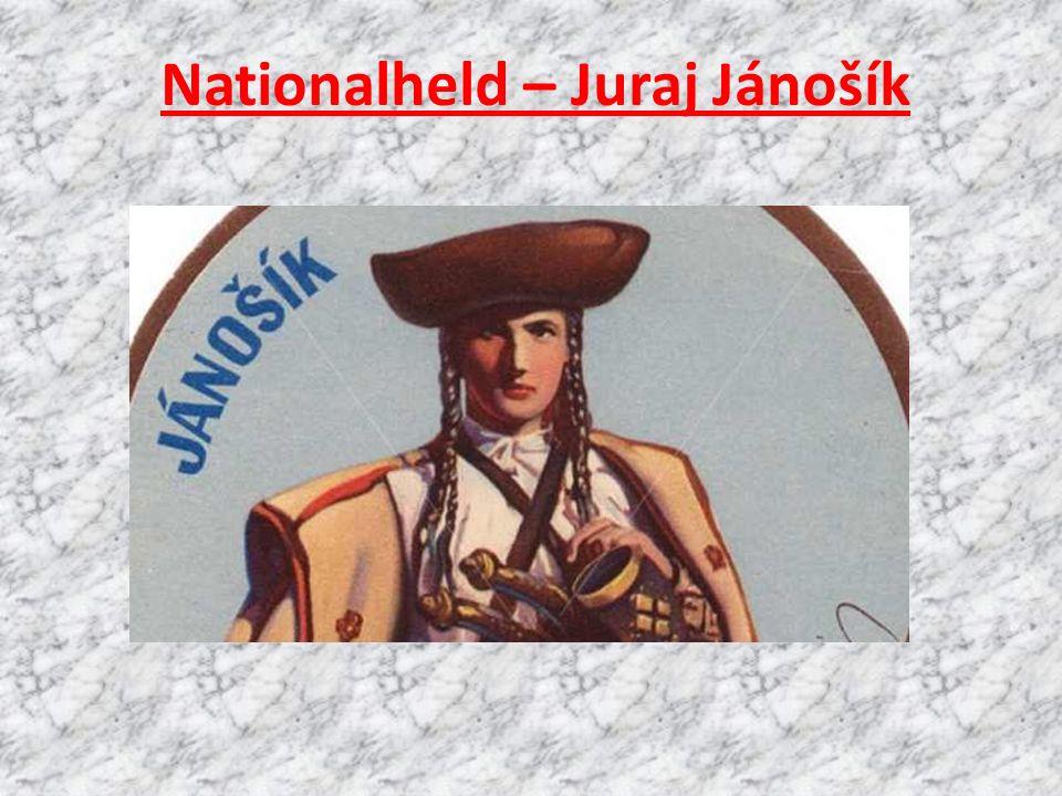 Nationalheld – Juraj Jánošík