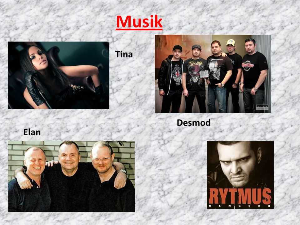 Musik Tina Desmod Elan