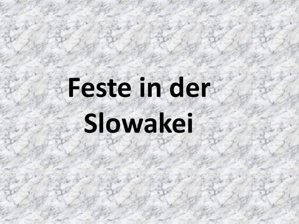 Feste in der Slowakei