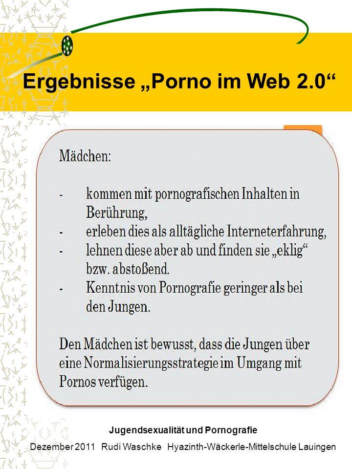 "Ergebnisse ""Porno im Web 2.0"