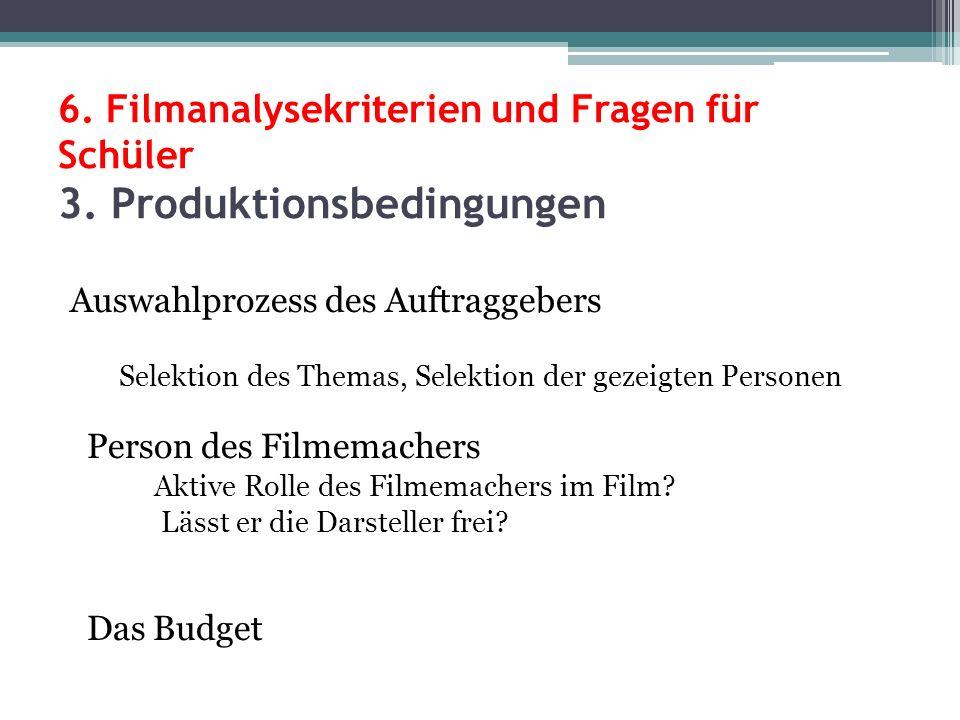 6. Filmanalysekriterien und Fragen für Schüler 3
