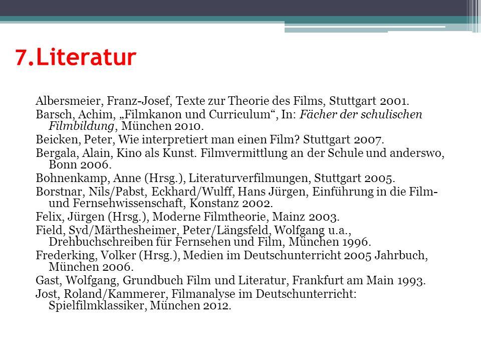 7.Literatur