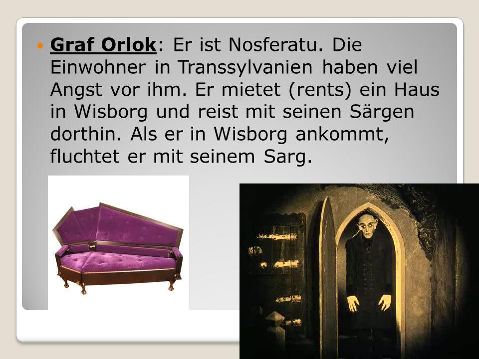 Graf Orlok: Er ist Nosferatu