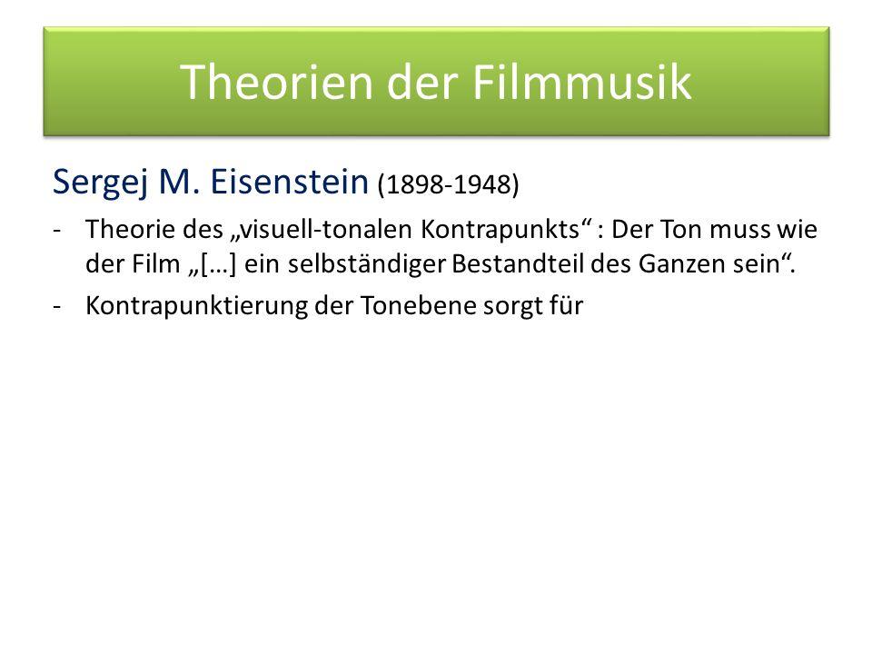 Theorien der Filmmusik