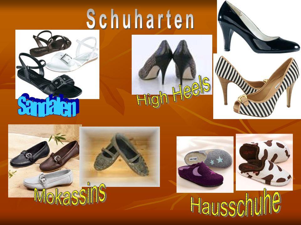 Schuharten High Heels Sandalen Mokassins Hausschuhe