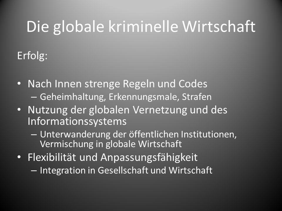 Die globale kriminelle Wirtschaft