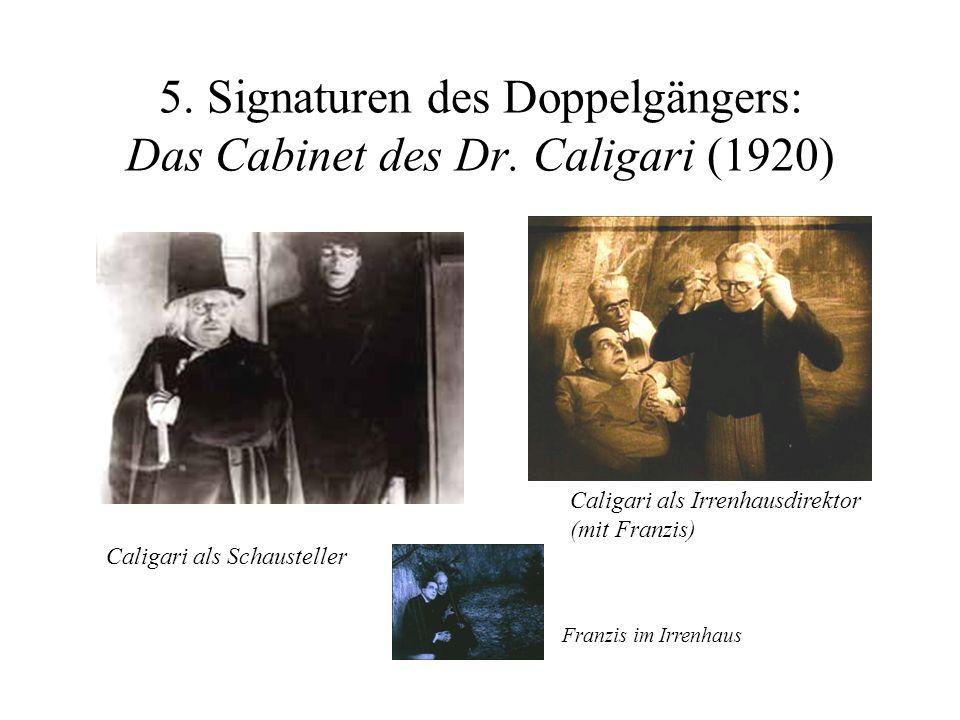 5. Signaturen des Doppelgängers: Das Cabinet des Dr. Caligari (1920)